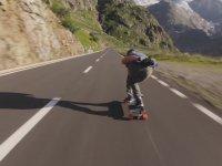 Dağdan, Kayakla Son Sürat İnmek
