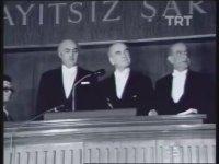 Fahri Korutürk'ün Cumhurbaşkanlığı Yemini