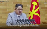 Nükleer Silah Düğmesi Sürekli Masamda  Kim Jong Un