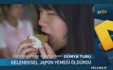 Yalnız Başına Yendiğinde Öldüren Japon Yemeği Moçi