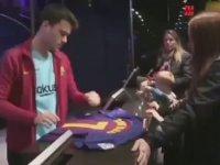 Arda Turan'ın 7 Numaralı Formasının Coutinho'ya Verilmesi