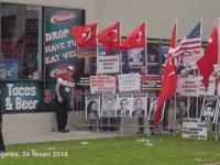 Eylem İçin Gelen Ermeni Gruba Cevap Vermek - ABD