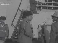 Enver Paşa, Yavuz Zırhlısı'nda (1916)