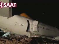 Trabzon'da Yaşanan Uçak Kazası