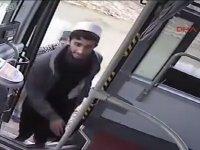 Özel Halk Otobüsünü Çalıp Yolcu Toplayan Hırsız