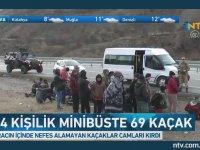 14 Kişilik Minibüse 69 Kişi Sığdırmak - Erzincan