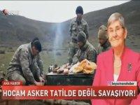 Canan Karatay'ın Afrin'deki Mehmetçik'e Menü Hazırlaması