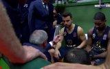 Obradovic'in Melih Mahmutoğlu'na Tokat Atması