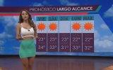 Havaları Sıcak Tutan Hava Durumu Sunucusu  Yanet Garcia