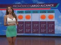 Havaları Sıcak Tutan Hava Durumu Sunucusu - Yanet Garcia