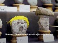İnsan Yüzünü Anımsatan İbretlik Taşlar
