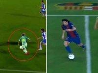 Barcelona'lı Kadın Futbolcu Barbara Latorre'nin Messi Golü