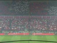 Konyaspor Taraftarlarından Afrin Koreografisi