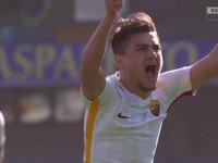 Cengiz Ünder'in Roma Formasıyla Attığı İlk Gol (Verona - Roma)