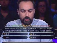 Kim Milyoner Olmak İster Yarışmasında İlginç Spor Sorusu