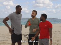 Usain Bolt'un Kevin Hart'a Yenilmesi