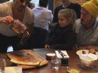 Nusret'in Beckham Ailesine Özel Şovu