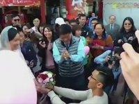 14 Şubat Sevgililer Günü'ne Özel Trafik Lambası - Tayvan
