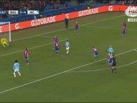 Basel vs Manchester City - Spikerin Gol Sevinci
