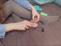 Bir Değişik Çorap Hışırtılı ASMR