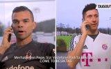 Negredo ve Pepe'nin Lewandowski'yi Araması