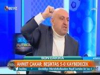 Ahmet Çakar'ın Sinan Engin'i Çıldırtan Skor Tahmini