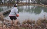 Çim Biçme Makinesiyle Balık Yakalamak