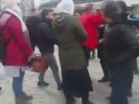 İranlı Turistlerin Taksiciye Meydan Dayağı Atması - İstanbul