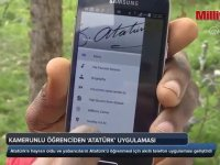 Kamerunlu Öğrenciden Atatürk Uygulaması