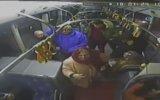 Otobüs Şoförüne Tornavidayla Saldıran Hayvanat