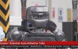 Akınrobotics'in Robot Askerlerinin Nöbet Tutması