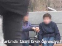 Gezi Parkı'nda Liseli Erkek Öğrenciye Taciz