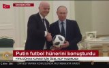 Putin ve Infantino'nun Kremlin Sarayında Futbol Oynaması