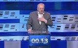 Türkçe Oy İsteyen Rus Siyasetçi  Vladimir Jirinovsky