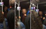 Sevgililer Metrobüste Öpüştü Diye Olay Çıkartan Adam