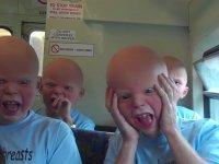 Bebek Maskesiyle Trene Binmek