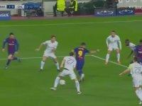 Messi'nin Chelsea Kalecisini Madara Etmesi