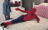 Karadeniz'de Örümcek Adam Kılığında Gezmek