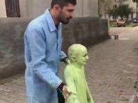 Sefa Kındır'ın Yeşil Uzaylı Sevgisi