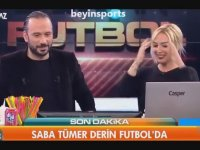 Saba Tümer'in Derin Futbol'a Konuk Olması