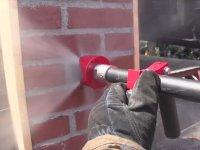 Metali ve Betonu Delebilen İtfaiye Tabancası