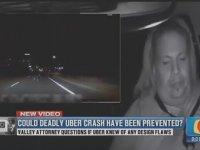 Sürücüsüz Uber'in Kaza Görüntüleri