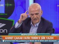 Ahmet Çakar'ın Fatih Terim'e Şiir Yazması - Karton İmparator
