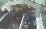 Maslak Yürüyen Merdiven Kazası Görüntüleri