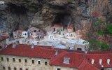 Trabzon'daki Sümela Manastırı'nda Çile Odaları