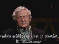 Müşfik Kenter ile Dünya Tiyatro Günü Kutlu Olsun