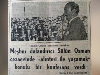 Türkiye'nin En Eski Dolandırıcısı Sülün Osman