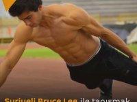Suriyeli Bruce Lee'nin İki Parmak Şınavıyla Rekor Kırması
