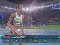 Ivana Spanovic'in Uzun Atlaması