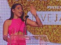 Abella Danger'ın Yılın En İyi Çıkış Yapan Oyuncu Ödülünü Alması